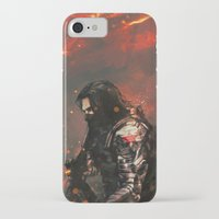 alicexz iPhone & iPod Cases featuring Blood in the Breeze by Alice X. Zhang