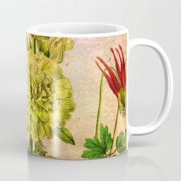 Pretty Garden Flowers Coffee Mug