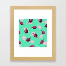 Beet Framed Art Print