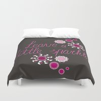sparkle Duvet Covers featuring Sparkle by Lucilight
