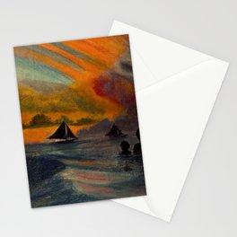 Boracay Sunset 1 Stationery Cards