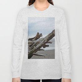 Natural Driftwood Long Sleeve T-shirt