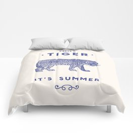 Smile Tiger, it's Summer Comforters