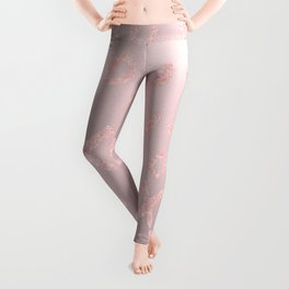Blush LOVE - XOXO - Leggings