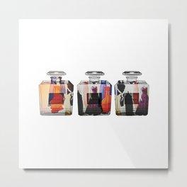 Glass Fashion Metal Print