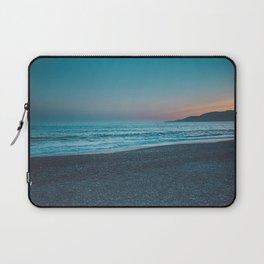 deepblue ocean by colorful sunset in Italy Laptop Sleeve
