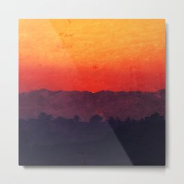 Five Shades of Sunset Metal Print