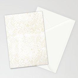 Snake Skin Sweet Corn Stationery Cards