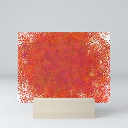 Love splatter Mini Art Print