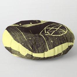 Witchcraft Cat Floor Pillow