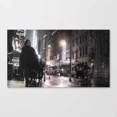 Rosie O's By Times Square Canvas Print