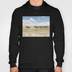 Zebra on African Savannah Hoody