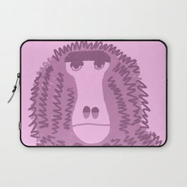 Unhappy Baboon Laptop Sleeve