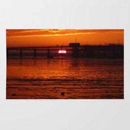 Blazing Sunset Rug