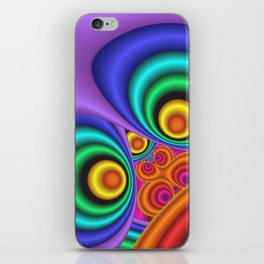 turn around with colors -34- iPhone Skin