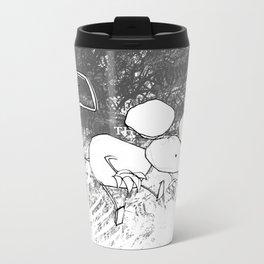 minima - deco mouse Metal Travel Mug