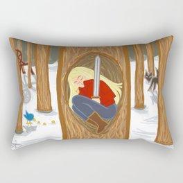 Tell Me A Story Rectangular Pillow