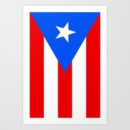 Puerto Rico Flag - Boricua Pride Art Print