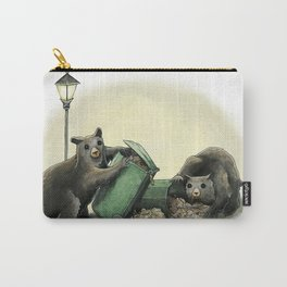Critters Eating Garbage # 1 Carry-All Pouch