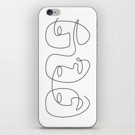 Line Carnival iPhone Skin