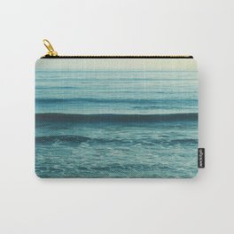 beach waves. Somewhere Carry-All Pouch