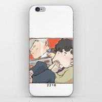 221b iPhone & iPod Skins featuring 221B by Negative Dragon