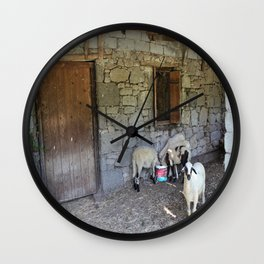 Being Watched by the Lamb Wall Clock