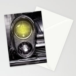 Front lights Stationery Cards