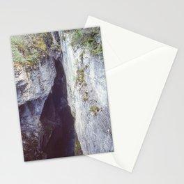 Maligne Canyon 3 Stationery Cards
