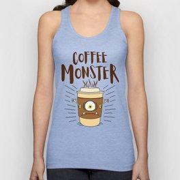 Coffee Monster - Coffeeholic Coffee Cup Unisex Tank Top