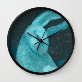 Celestial Sky Ghost Wall Clock