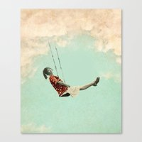 Canvas Prints featuring Mary's Breath of Heaven by Vin Zzep