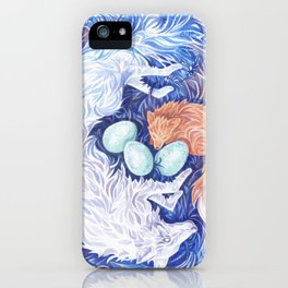 Wolf and Fox iPhone Case