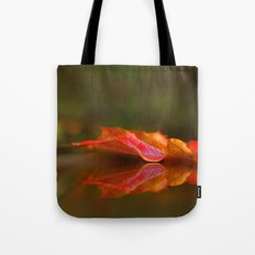 Maple Leaf Reflection Tote Bag