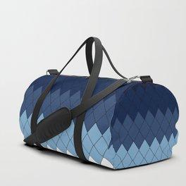 Blue rombs Duffle Bag