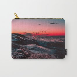 Pink ocean from sunset Carry-All Pouch