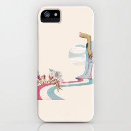 Bicolor World iPhone Case
