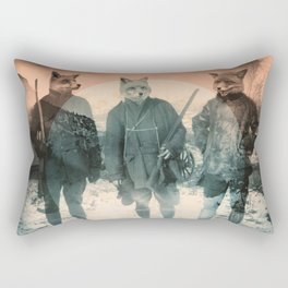 Fox Hunt Rectangular Pillow