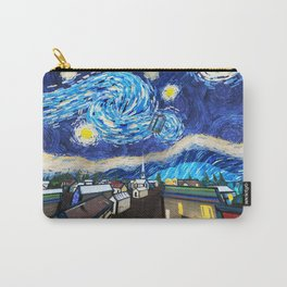 Tardis Art Starry City Night Carry-All Pouch