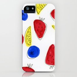 Mixed Fruit iPhone Case