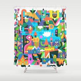 Neighbourhood 2 Shower Curtain