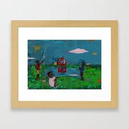 2018 Fishing In Arkansas art by Marcellous Lovelace Framed Art Print