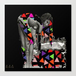 She Lives In The Pyramid Canvas Print