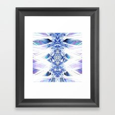 Crystal Mesh Framed Art Print