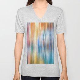 Rainbow Reflections Unisex V-Neck