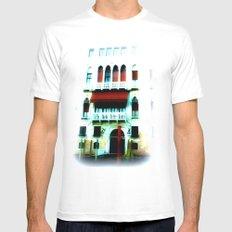 dream of Venice Mens Fitted Tee White MEDIUM