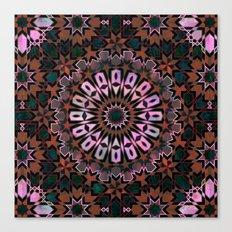 FEZ Moroccan Tiles {4f} Canvas Print