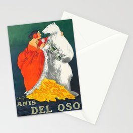 Vintage Italian Liquor Ad Stationery Cards