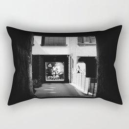 Street scene in Scheunenviertel quarter in Berlin Mitte Rectangular Pillow
