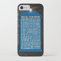 doctor iPhone & iPod Cases featuring Doctor Who  by Luke Eckstein
